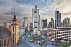 Frankfurt - Am - magistrala Obrazy Royalty Free