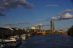 Frankfurt - Am - magistrala Obrazy Stock