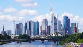 Frankfurt magistrala zdjęcie stock