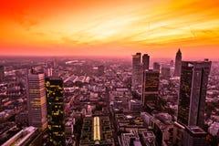 frankfurt magistrala Germany zdjęcia royalty free