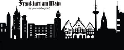 frankfurt magistrala Germany Ilustracji