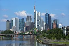 Frankfurt_Main fotos de stock royalty free