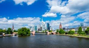 Frankfurt am Main Skyline Royalty Free Stock Images
