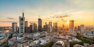 Frankfurt am Main Skyline Royalty Free Stock Photography