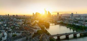 Frankfurt am Main Skyline Stock Images