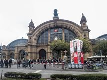 Frankfurt Main, central station Royalty Free Stock Images