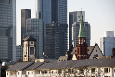 Frankfurt am Main cityscape Stock Photo