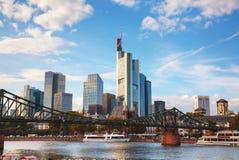 Frankfurt am Main cityscape Royalty Free Stock Photos
