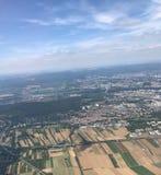 Frankfurt-am-Main del cielo Fotos de archivo