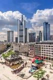 Frankfurt-am-Main in Duitsland Royalty-vrije Stock Foto's