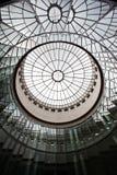 Frankfurt-am-Main in Duitsland is de handelscentrum, cultuur, onderwijs, toerisme en vervoerhub royalty-vrije stock foto's