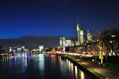 Frankfurt am Main, Germany Royalty Free Stock Photography