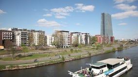 Frankfurt Main, Germany stock video footage