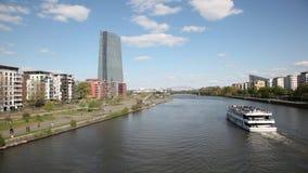 Frankfurt Main, Germany stock footage