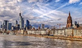 Frankfurt am Main Germany City Stock Image