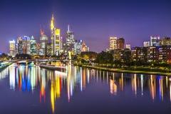 Frankfurt am Main. Frankfurt, Germany on the Main River Stock Image