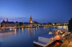 Frankfurt and Main, Germany royalty free stock photos
