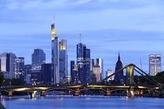 Frankfurt am Main. Frankfurt, Germany - September 4, 2015: Skyline of Frankfurt am Main Royalty Free Stock Image