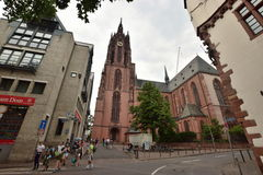 Frankfurt on the Main, Germany - St Bartholomew cathedral Royalty Free Stock Photo
