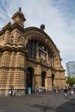 Frankfurt main Hauptbahnhof train station Stock Photos