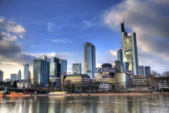Frankfurt-am-Main HDR Stockfotos