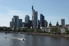 Frankfurt am Main, Hesse, Germany. Royalty Free Stock Image