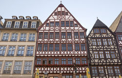 Frankfurt am main historic roemer place Royalty Free Stock Photography