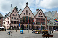 FRANKFURT AM MAIN - 20. JULI: alte Stadt - alte stadt Stockbilder