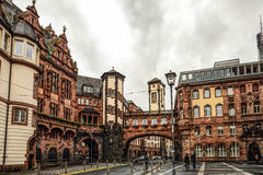 Frankfurt am Main. Medieval buildings in Frankfurt am Main, Germany Royalty Free Stock Photos