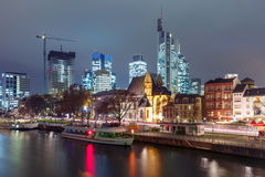 Frankfurt am Main in the morning, Germany Stock Images
