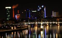 Frankfurt am Main by night Stock Photos