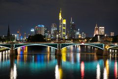 Frankfurt main Stock Image