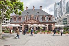 Frankfurt-am-Main, paisaje urbano fotos de archivo libres de regalías
