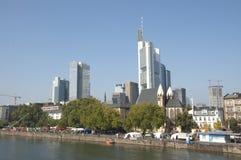Frankfurt am Main skyline Stock Photography