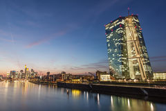 Frankfurt Main skyline, Germany Royalty Free Stock Image