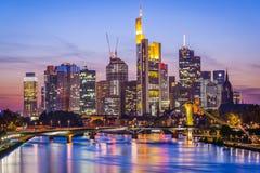 Frankfurt Am Main Skyline Stock Photo