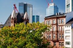 Frankfurt am Main skyline, Germany Royalty Free Stock Photography