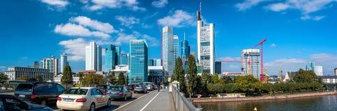 Frankfurt am Main skyline, Germany Stock Images