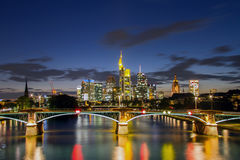 Frankfurt. Am Main skyline with office buildings, Germany stock photos