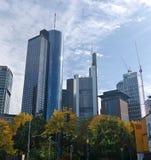 Frankfurt Main Tower Stock Photo