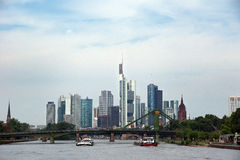 Frankfurt am Main Royalty Free Stock Images