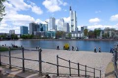 Frankfurt am Maine cityscape Stock Photos