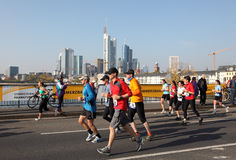 Frankfurt Marathon 2010 Royalty Free Stock Images