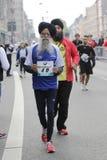 frankfurt maraton Royaltyfri Bild
