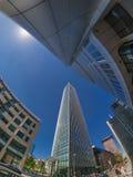 Frankfurt miasta ulicy widok Obrazy Stock