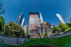 Frankfurt miasta ulicy widok Zdjęcie Stock