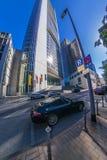 Frankfurt miasta ulicy widok obrazy royalty free