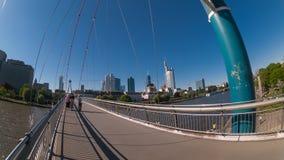 Frankfurt miasta ulicy widok Zdjęcie Royalty Free