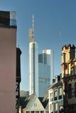 Frankfurt skyscraper Stock Photography