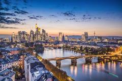 Frankfurt, Niemcy Fotografia Stock